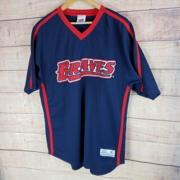 49551e5a MLB True Fan Series Atlanta Braves Jersey